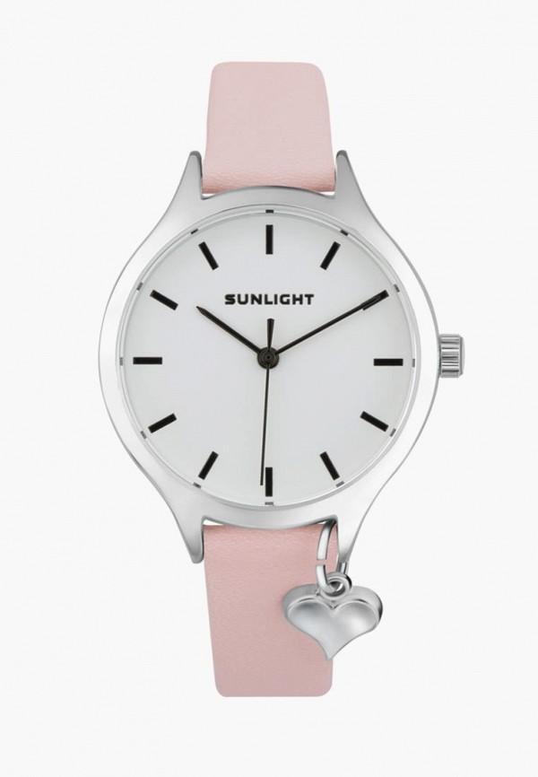 Купить Часы Sunlight, mp002xw195ka, розовый, Весна-лето 2018
