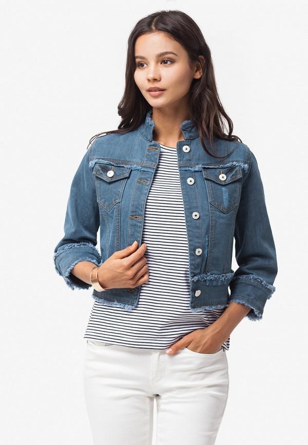 Купить Куртка джинсовая Vilatte, mp002xw195qc, синий, Весна-лето 2018