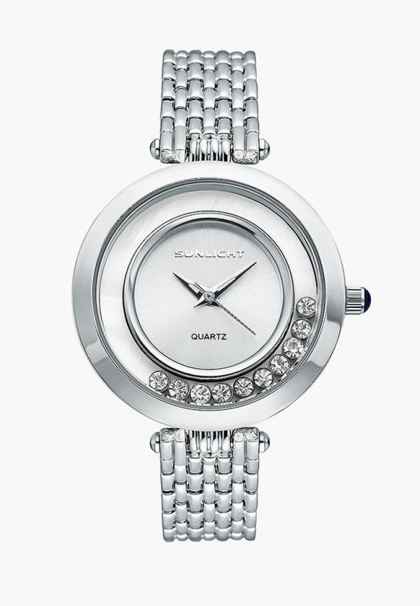 Купить Часы Sunlight, mp002xw195s5, серебряный, Весна-лето 2018