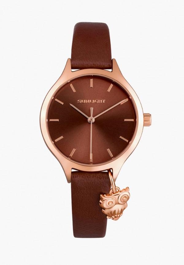 Купить Часы Sunlight, mp002xw195s7, коричневый, Весна-лето 2018