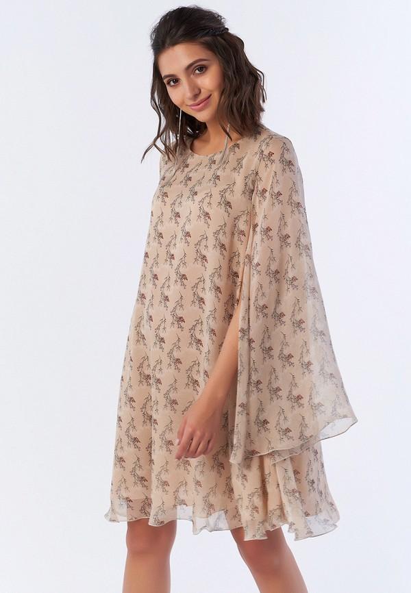 Купить Платье Fly, MP002XW195U9, бежевый, Весна-лето 2018