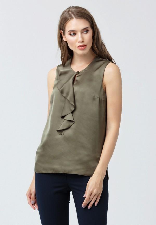 женская блузка oks by oksana demchenko, хаки