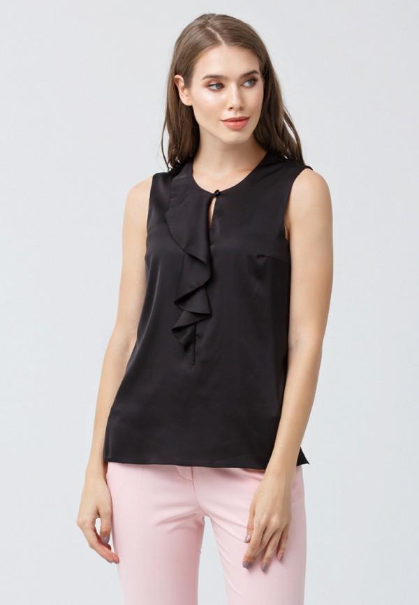 женская блузка oks by oksana demchenko, черная