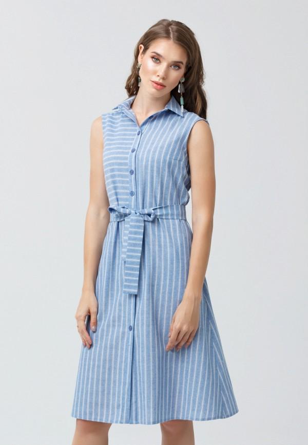 женское платье мини oks by oksana demchenko, синее