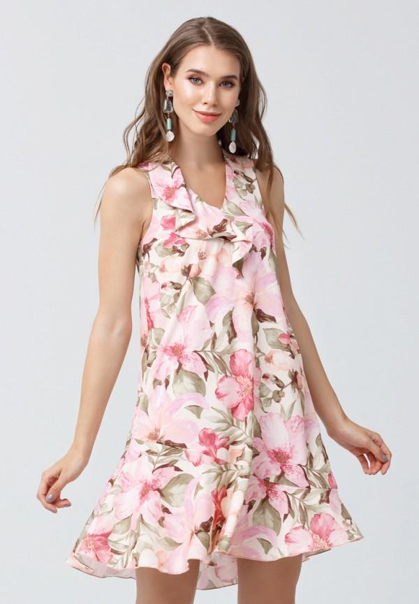 женское платье мини oks by oksana demchenko, розовое
