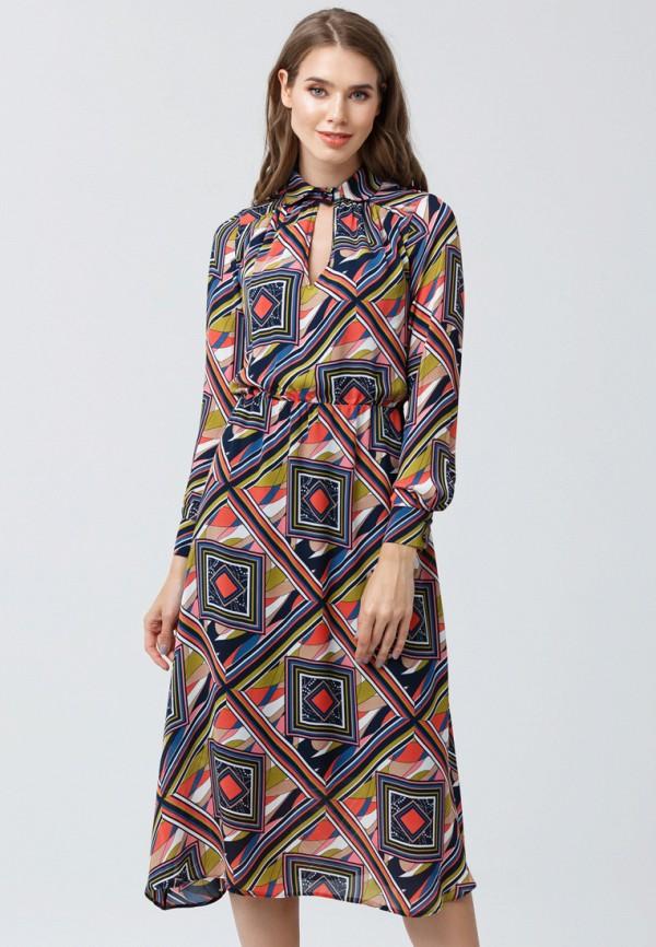 женское повседневные платье oks by oksana demchenko, разноцветное