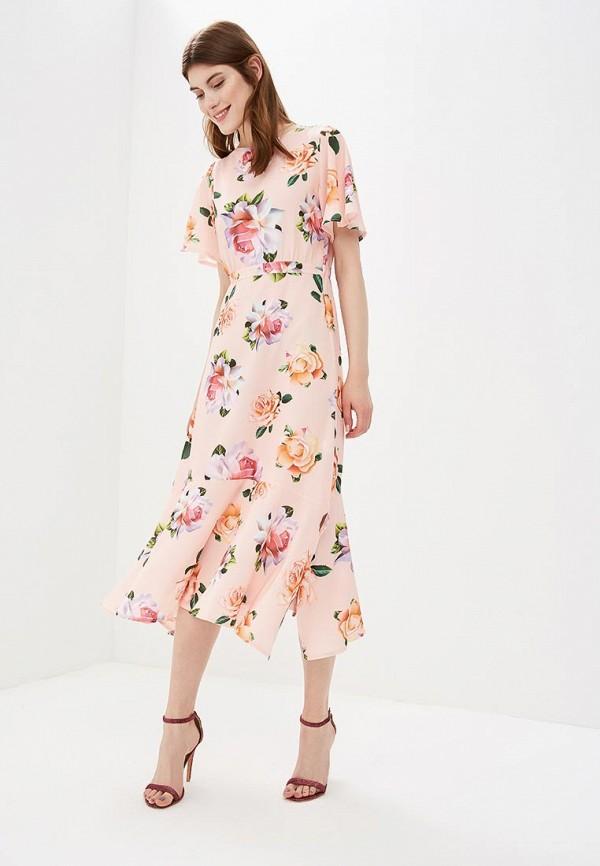 Купить Платье Froggi, mp002xw19600, розовый, Весна-лето 2018