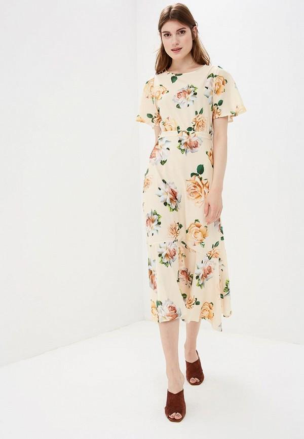 Купить Платье Froggi, mp002xw19601, бежевый, Весна-лето 2018