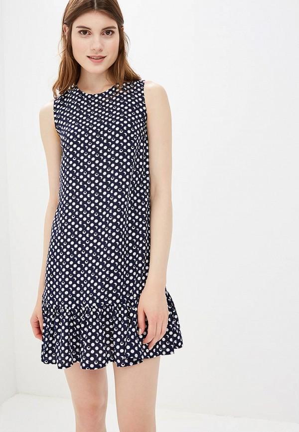 Купить Платье Froggi, mp002xw1960b, синий, Весна-лето 2018