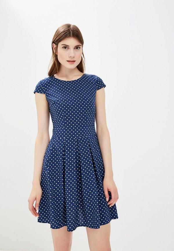 Купить Платье Froggi, mp002xw1960c, синий, Весна-лето 2018