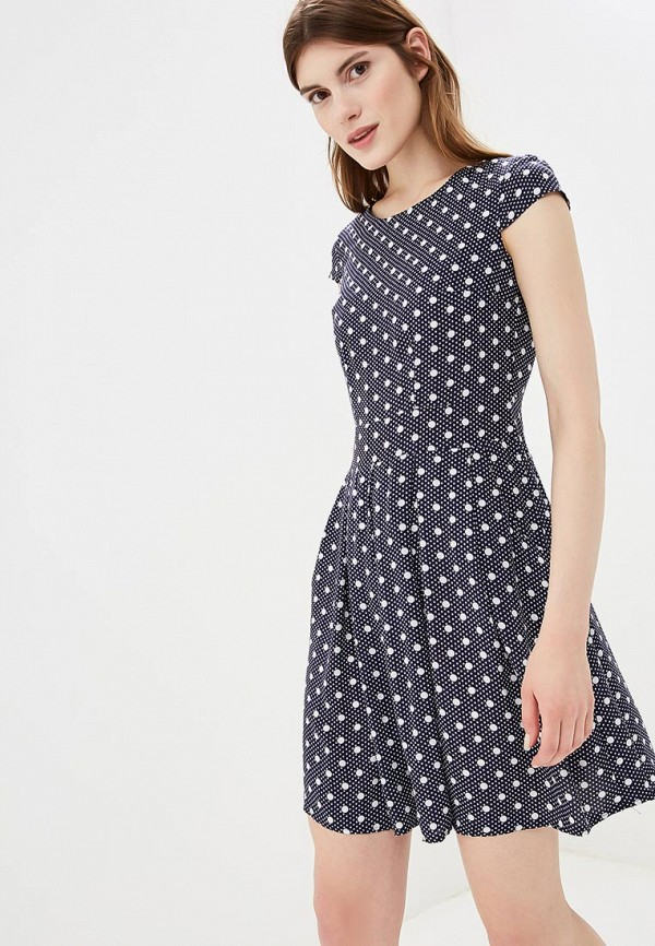 Купить Платье Froggi, mp002xw1960f, синий, Весна-лето 2018