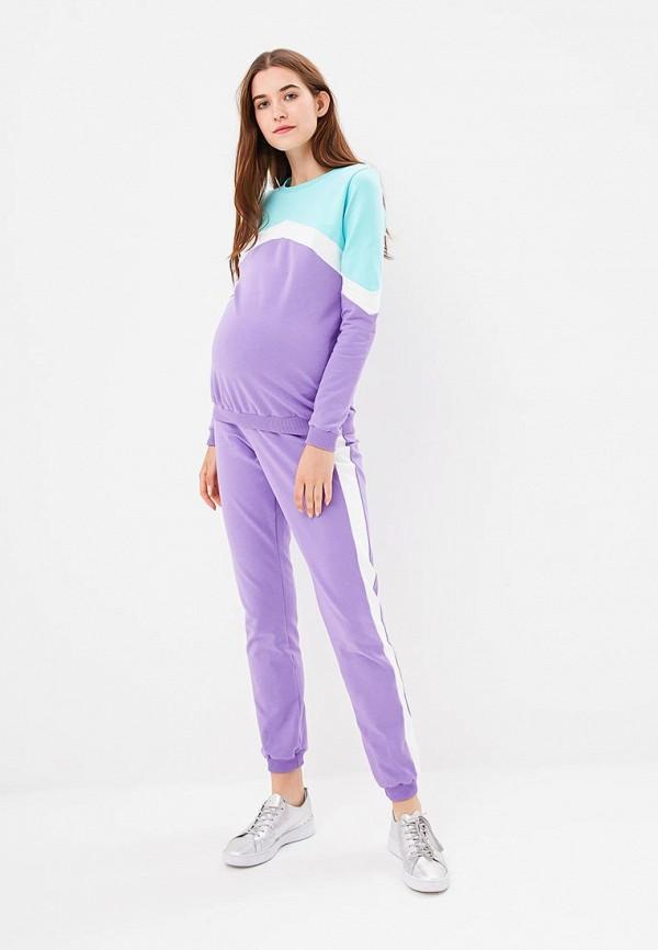 женский спортивный костюм fest, фиолетовый