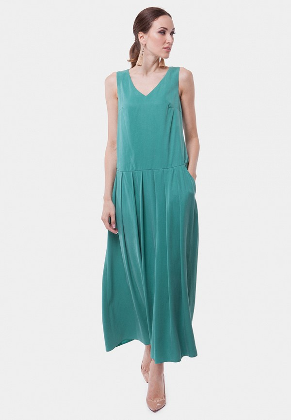 женское платье vladi collection, бирюзовое