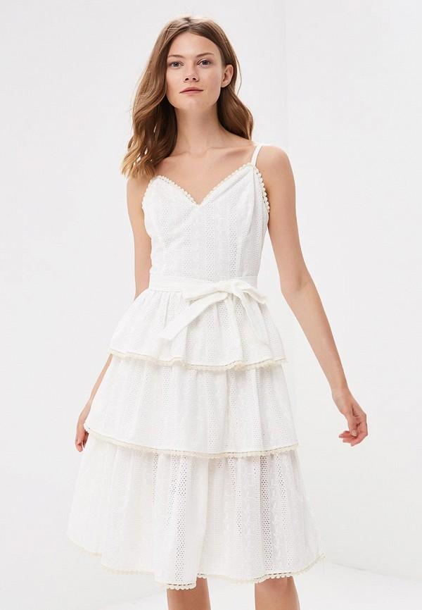 Купить Платье Fashion.Love.Story, MP002XW196A8, белый, Весна-лето 2018