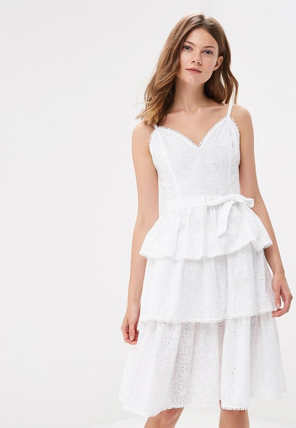 Купить Платье Fashion.Love.Story, mp002xw196a9, белый, Весна-лето 2018