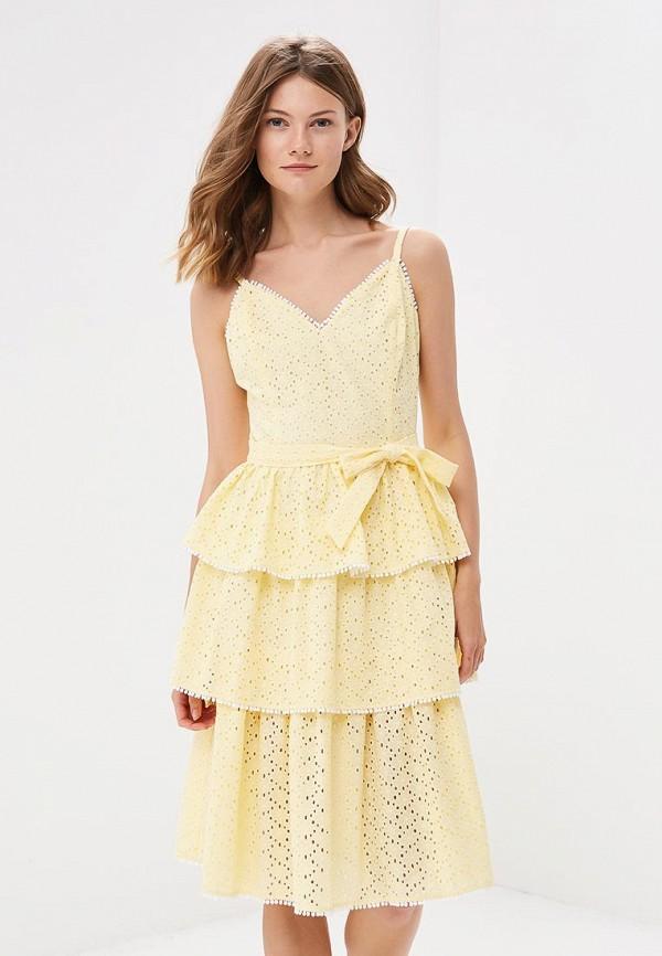 Купить Платье Fashion.Love.Story, mp002xw196aa, желтый, Весна-лето 2018