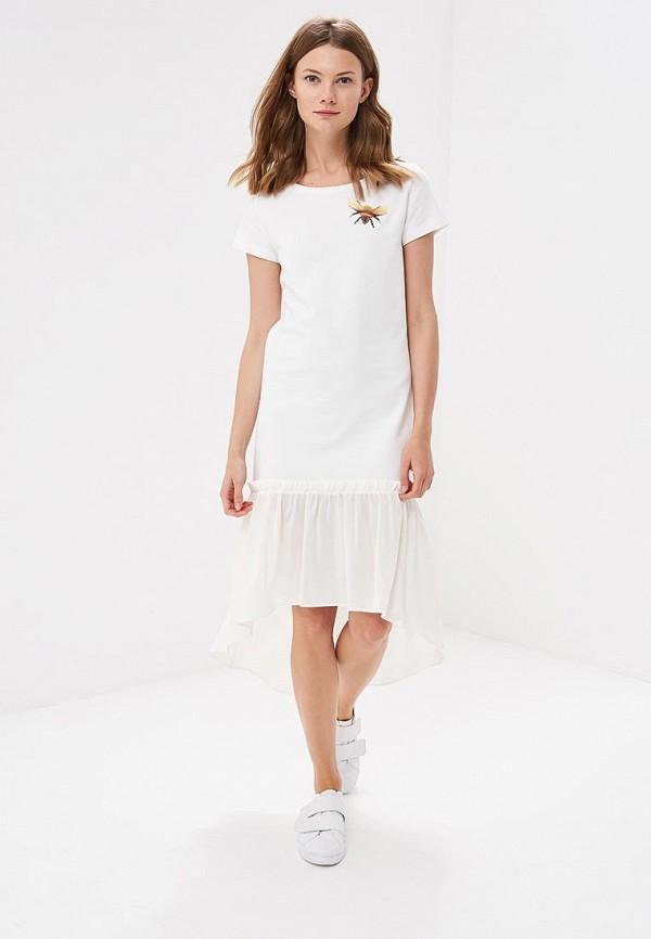 Купить Платье Fashion.Love.Story, MP002XW196AH, белый, Весна-лето 2018