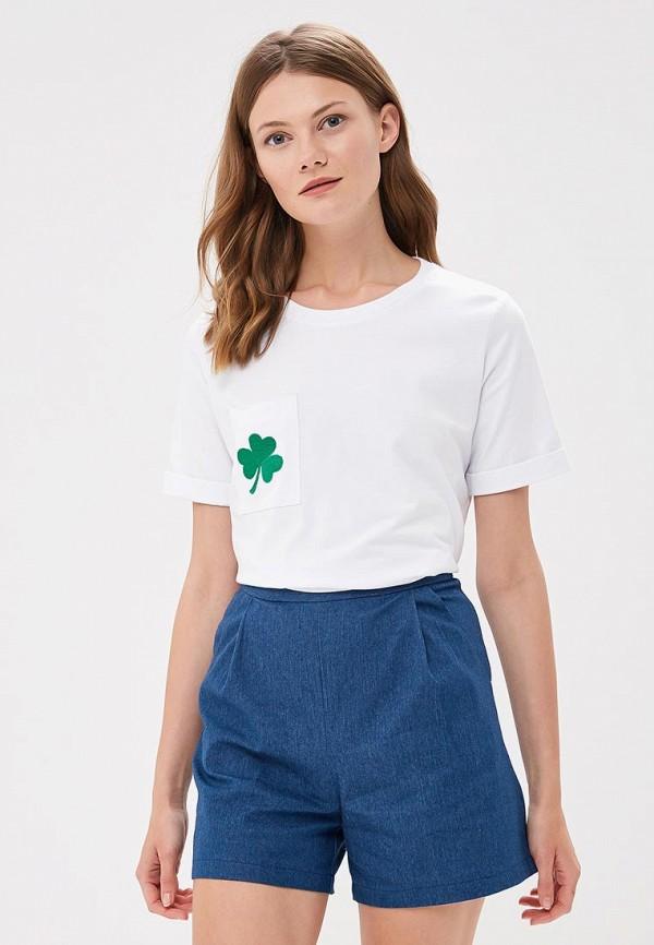 Купить Футболка Fashion.Love.Story, MP002XW196AM, белый, Весна-лето 2018