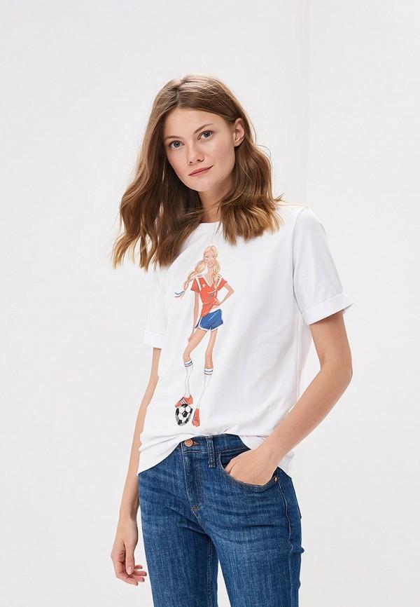 Купить Футболка Fashion.Love.Story, MP002XW196AS, белый, Весна-лето 2018