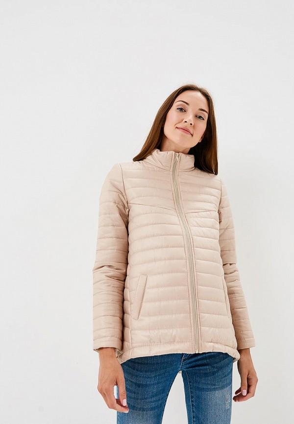 Купить Куртка утепленная Очаровательная Адель, MP002XW196F5, бежевый, Весна-лето 2018