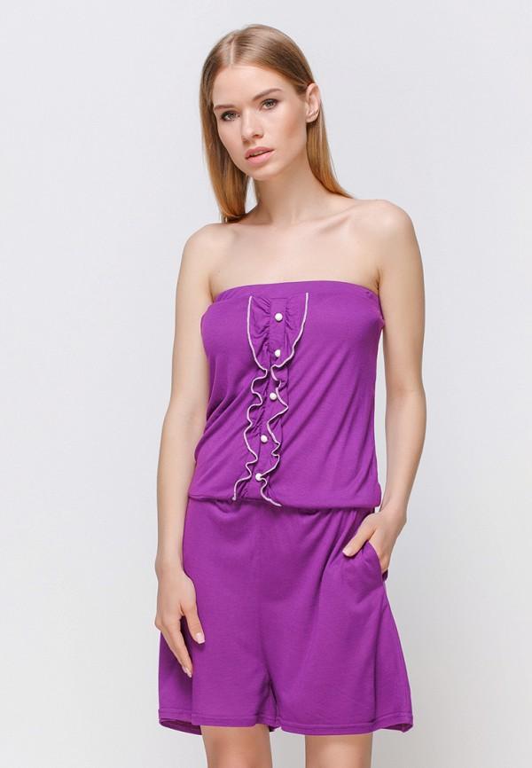 женский комбинезон freya, фиолетовый