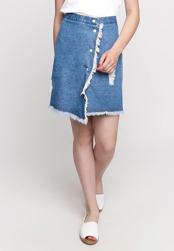 женская джинсовые юбка dasti, синяя