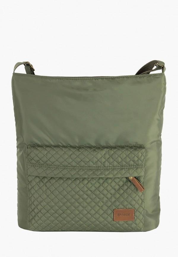 женская сумка episode, зеленая