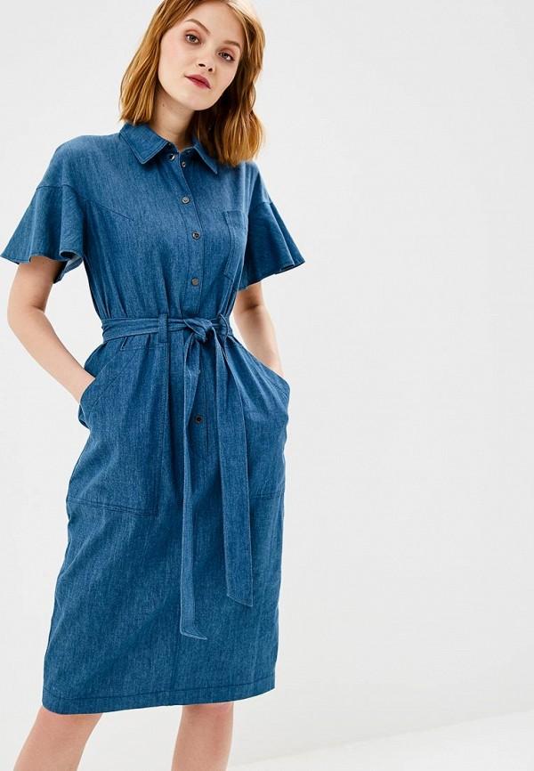 Платье джинсовое Chapurin Chapurin MP002XW196X7 платье chapurin chapurin mp002xw0f4u6