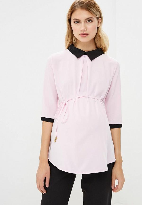 Фото - Женскую блузку 9Месяцев 9Дней розового цвета