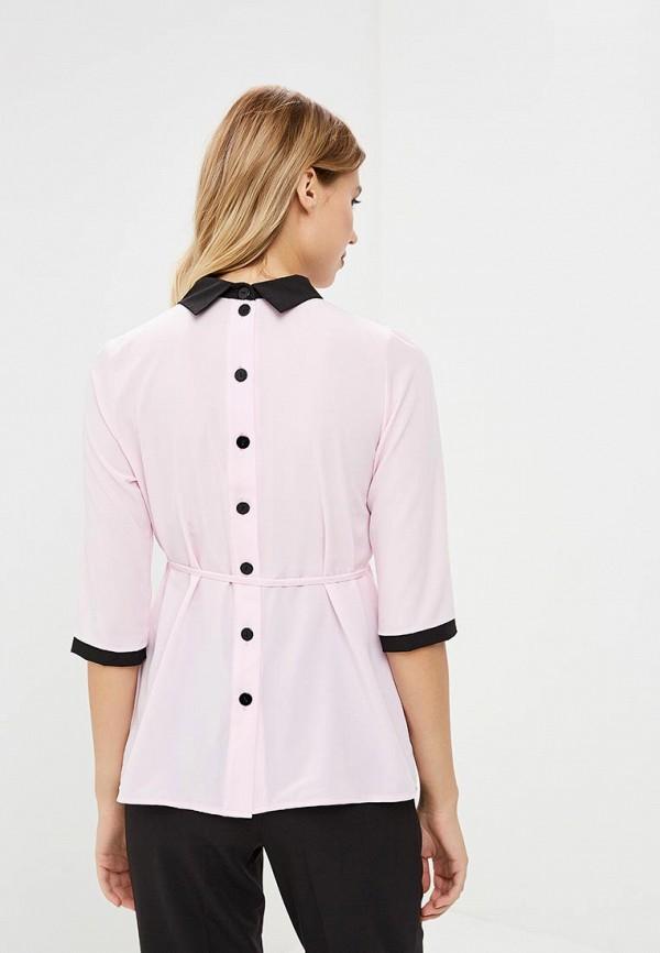 Фото 3 - Женскую блузку 9Месяцев 9Дней розового цвета