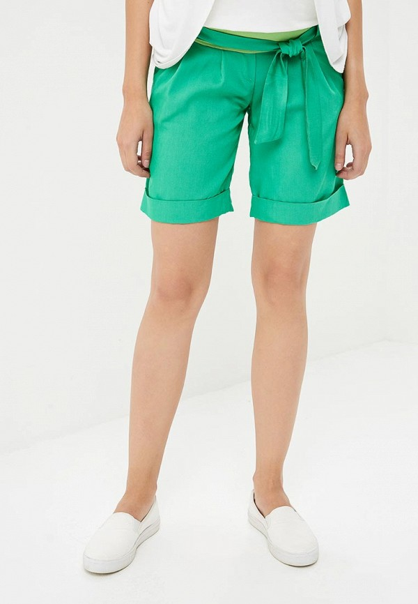Фото - Женские шорты 9Месяцев 9Дней зеленого цвета