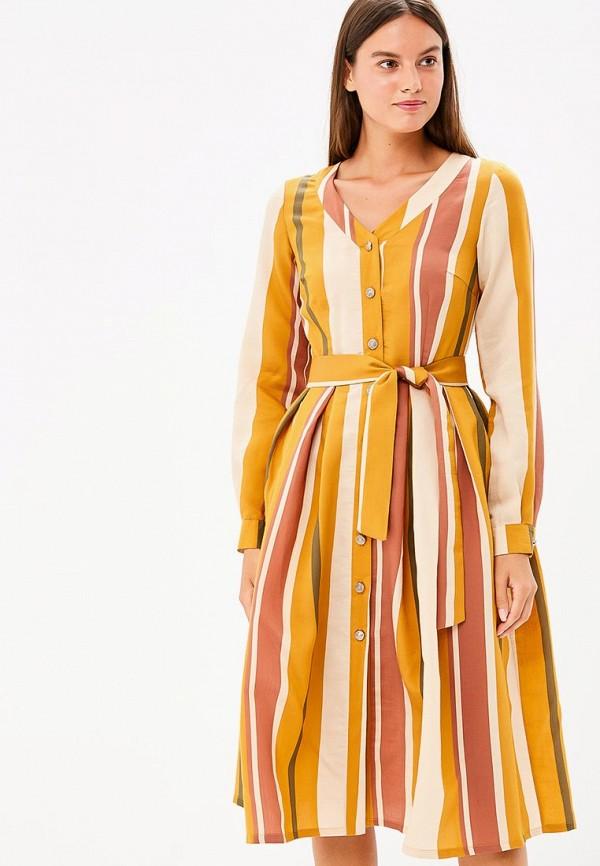 женское платье bezko, оранжевое