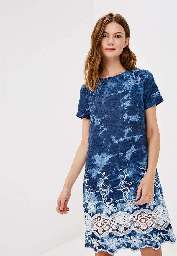Купить Платье Vera Nova, MP002XW19720, синий, Весна-лето 2018