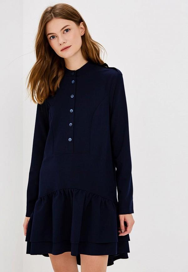 Купить Платье Vera Nova, MP002XW19722, синий, Весна-лето 2018