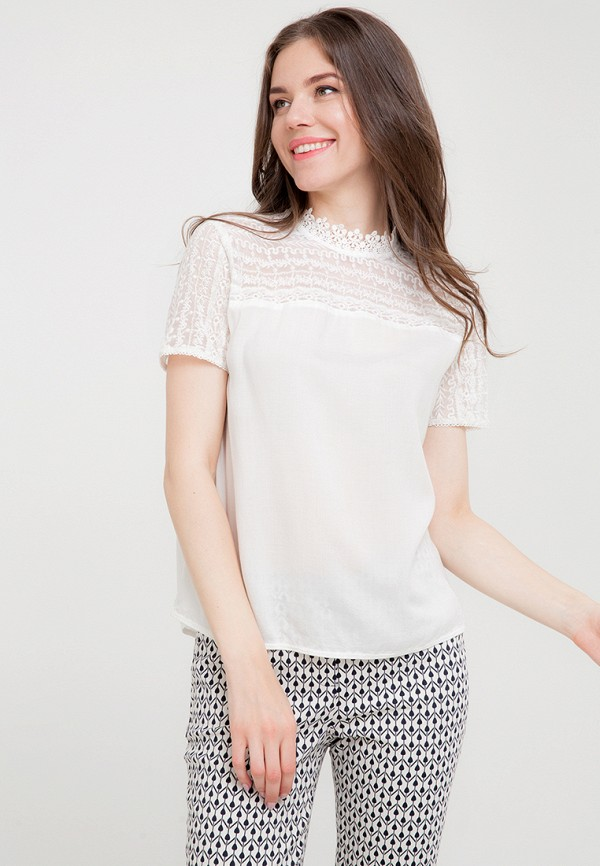 Купить Блуза D'lys, mp002xw197d3, белый, Весна-лето 2018
