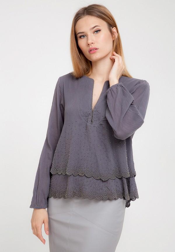 Купить Блуза D'lys, mp002xw197d9, серый, Весна-лето 2018