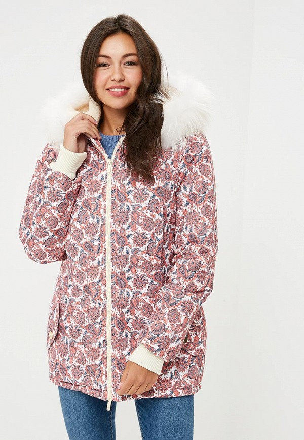Купить Куртка утепленная Dasti, MP002XW197I9, коралловый, Осень-зима 2017/2018