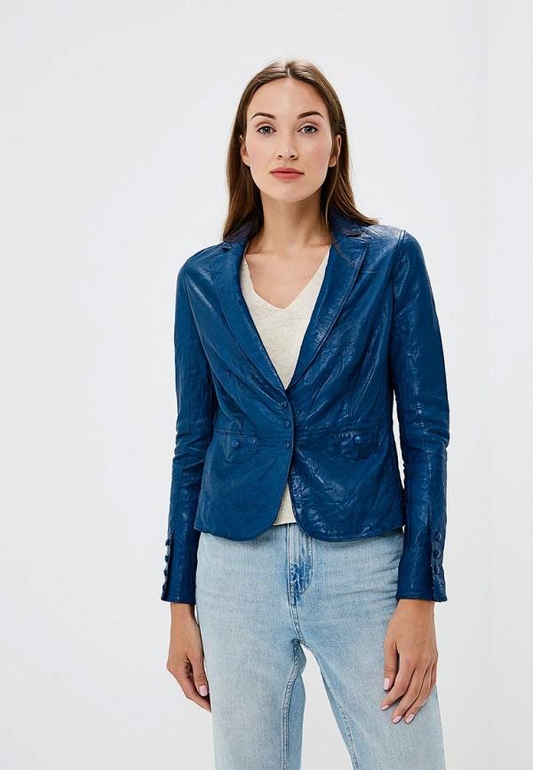 Купить Куртка кожаная D'lys, MP002XW1982U, синий, Осень-зима 2018/2019