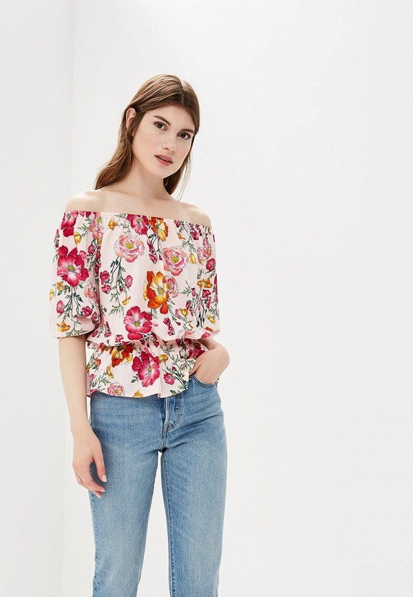 Купить Блуза Froggi, mp002xw1982x, розовый, Весна-лето 2018