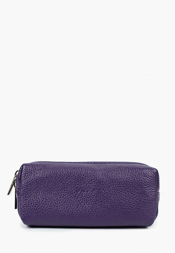 женская косметичка duffy, фиолетовая