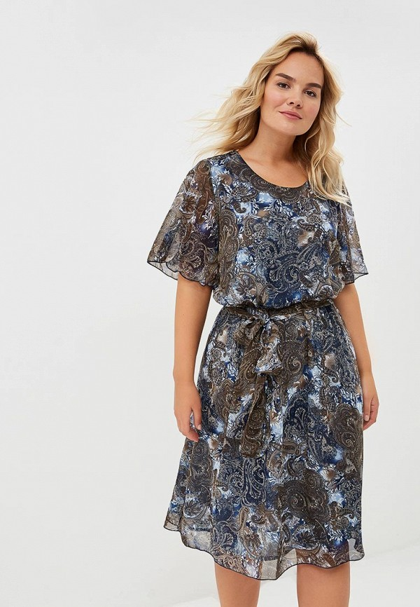 женское повседневные платье olsi, хаки