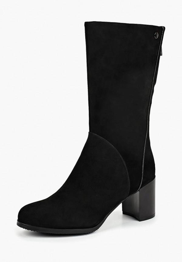 женские полусапожки pierre cardin, черные