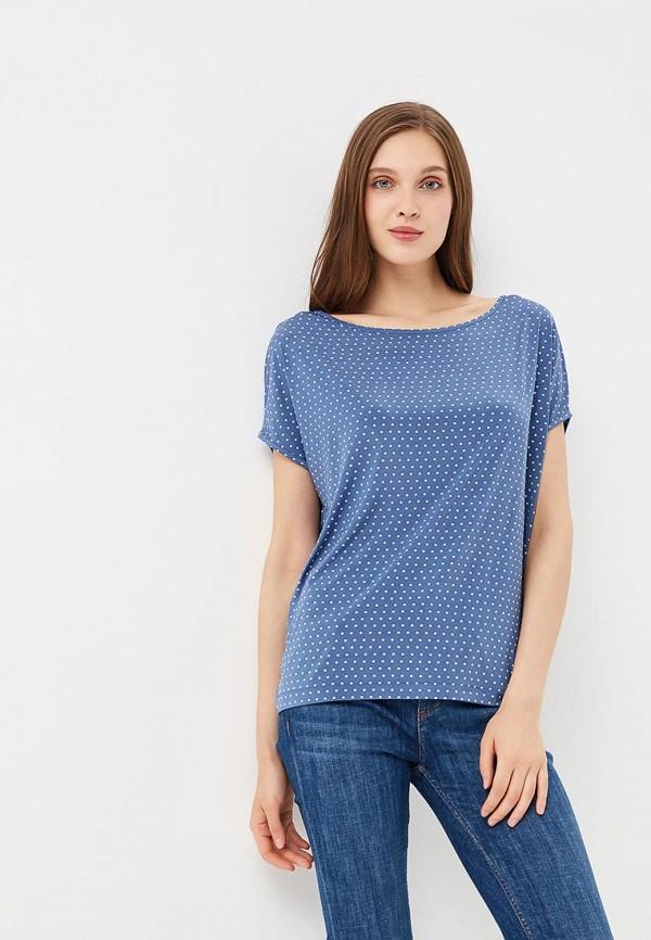 женская футболка с коротким рукавом ruxara, голубая