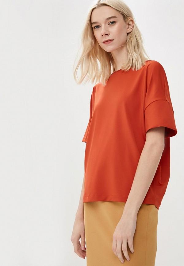женская футболка с коротким рукавом ruxara, оранжевая