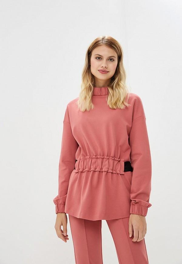 женский свитшот ruxara, розовый