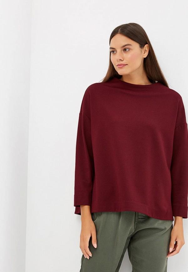 женская блузка ruxara, бордовая