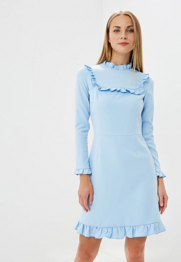 Купить Платье Vittoria Vicci, MP002XW1997W, голубой, Весна-лето 2018
