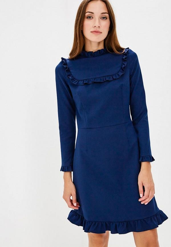 Купить Платье Vittoria Vicci, MP002XW1997Z, синий, Весна-лето 2018