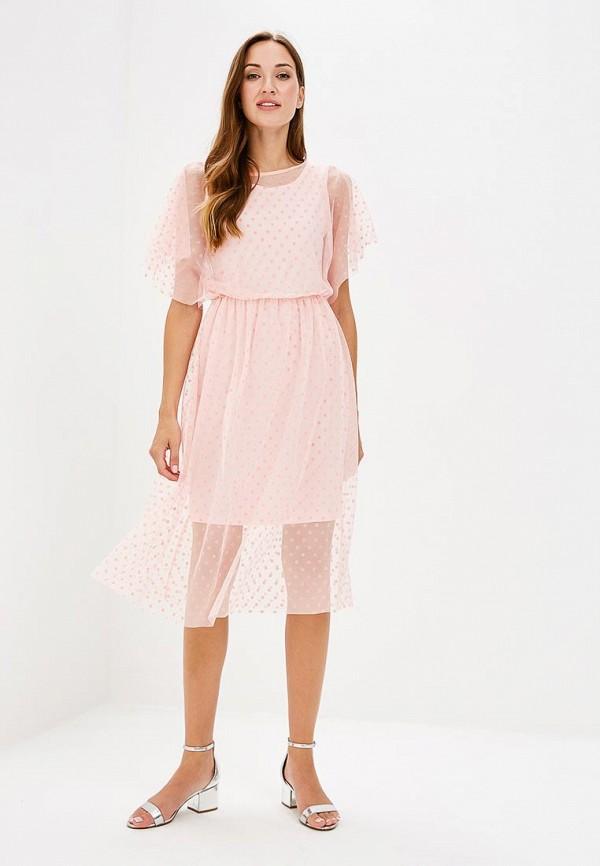 Платье Vittoria Vicci, MP002XW19995, розовый, Весна-лето 2018  - купить со скидкой
