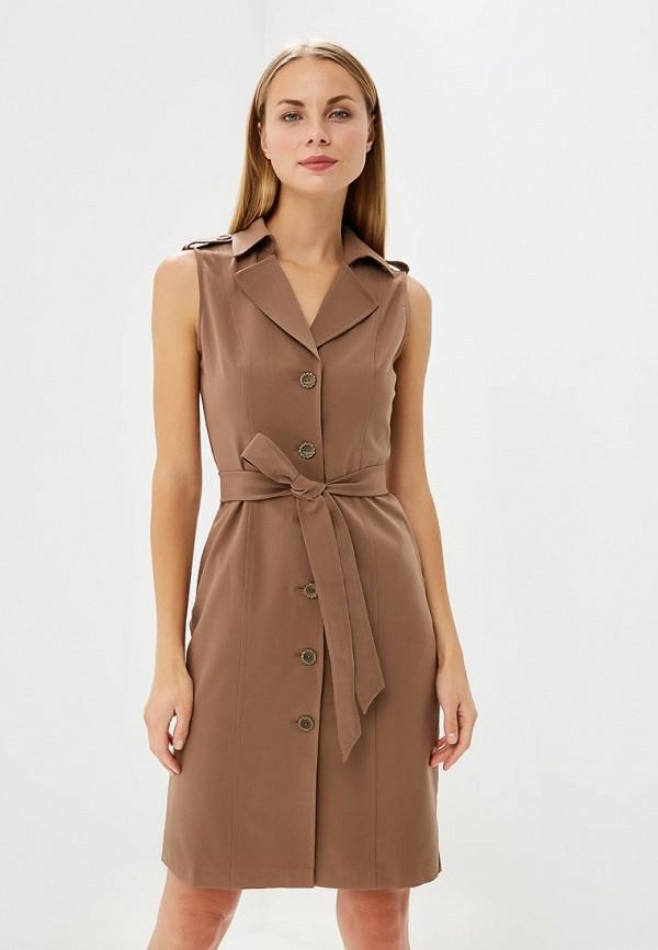 Платье Vittoria Vicci, mp002xw1999l, коричневый, Весна-лето 2018  - купить со скидкой